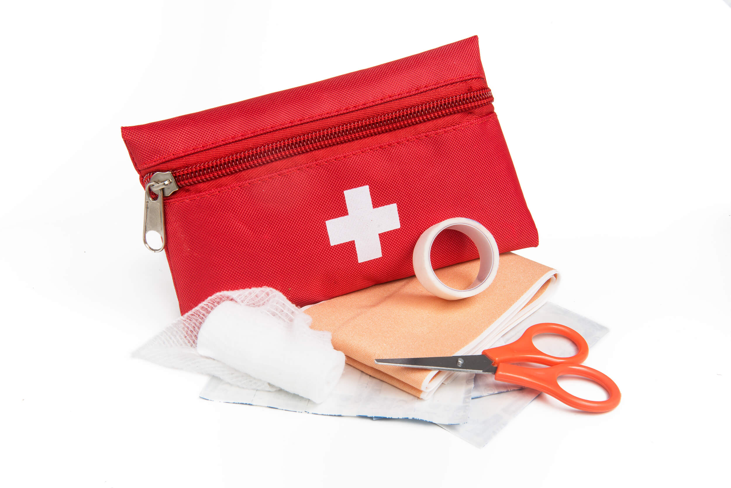 The first aid kit contents checklist