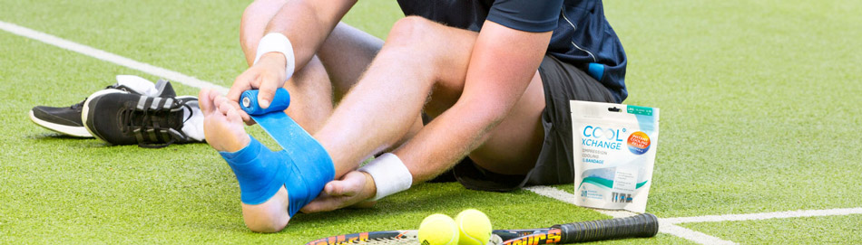 header for tennis ankle