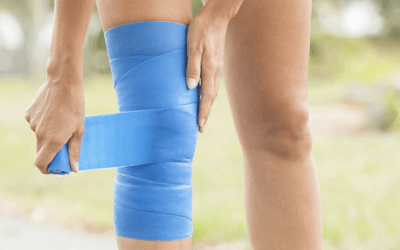 Knee sprains: symptoms and recovery