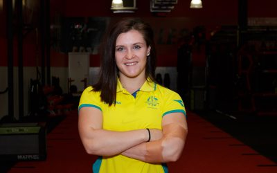 Carissa Holland sets her sights on gold at the Games